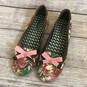 Sperry Top Sider Tropical Print Espadrilles Sz 7